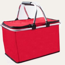 Insulated Picnic Basket with Handles