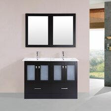 Terese 48 Double Modern Bathroom Vanity Set by Latitude Run