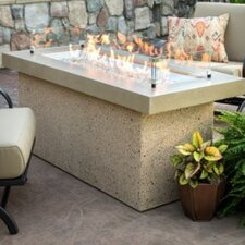 Key Largo Crystal Fire Pit Table with Base