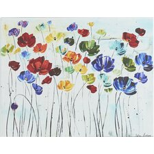Lilies by Jolina Anthony on Canvas