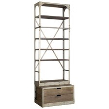 Lindel 96 Iron Etagere Bookcase by 17 Stories