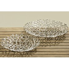 Fiden 2 Piece Decorative Bowl Set
