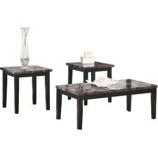 June 3 Piece Coffee Table Set