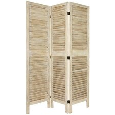 Jeanpierre 67 x 41 Venetian 3 Panel Room Divider by August Grove