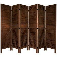 "Jeanpierre 67"" x 81"" Hingham 6 Panel Room Divider"