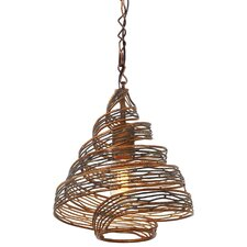 Flow 1-Light Geometric Pendant