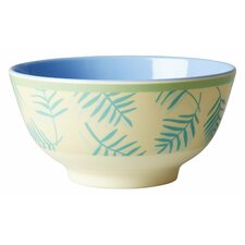 Two Tone Melamine Palm Leaves Bowl