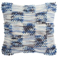 Harmony Square Spaced Looped Throw Pillow