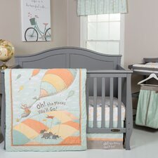 Dr. Seuss Oh The Places You'll Go! 5 Piece Crib Bedding Set
