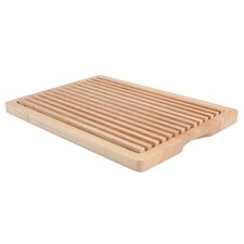 Bread Cutting Board with Removable Section