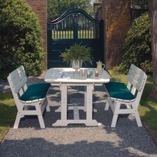 Portsmouth 3 Piece Dining Set