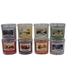 8 Piece Scent Jar Candle Set