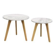 Pebble 2 Piece Nesting Tables (Set of 2)