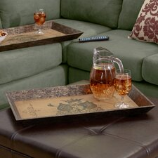 2 Piece Signa Tray (Set of 2)