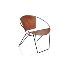 Leather Papasan Chair by Fashion N You by Horizon Interseas