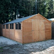 20 x 10 Wooden Overlap Apex Storage Shed