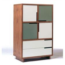 Modu-licious 4 Door Storage Cabinet by Blu Dot