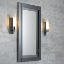Candre 19.25 x 39.38 Recessed or Surface Mount Medicine Cabinet by Robern