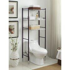 Duplex 24 W x 66.25 H Over the Toilet Storage by Organize It All