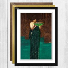 Circe Invidiosa by John William Waterhouse Framed Painting Print