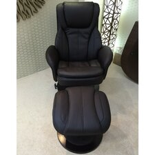 Deluxe Recliner and Footstool