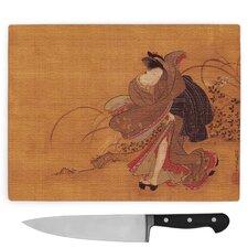 Koryusai Isoda Beauty Oriental Japanese Large Chopping Board