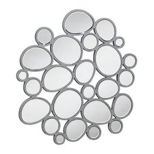 Contemporary Mounting Hardware Wall Mirror