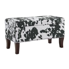 Adelynn Udder Madness Domino Ottoman by Williston Forge