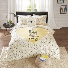 4 Piece Cotton Duvet Cover Set