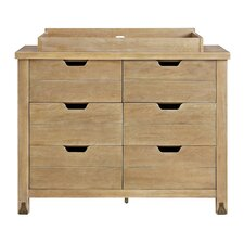 Forrest 6 Drawer Double Dresser