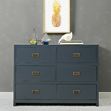 Bria 6 Drawer Double Dresser