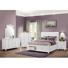 Daley Storage Panel Customizable Bedroom Set