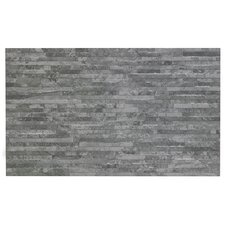 Snowdonia 29.8cm x 49.8cm Ceramic Splitface Tile in Grey