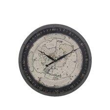Iron Map Wall Clock