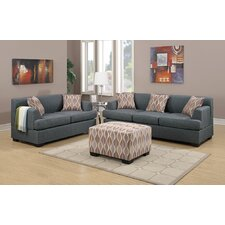 Corporate Sofa and Loveseat Set  by Andover Mills®