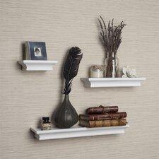 3 Piece Ledge Floating Shelf Set by Alcott Hill