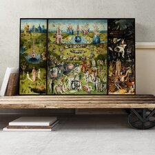 'The Garden of Earthly Delights' by Hieronymous Bosch Painting Print on Canvas