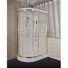 47 x 32 x 85.25 Corner Shower Enclosure by Kokss