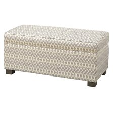 Mumtaz Upholstered Decorative Storage Ottoman by Bungalow Rose