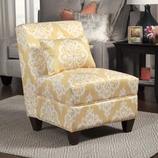 Neel Large Slipper Chair by Bungalow Rose