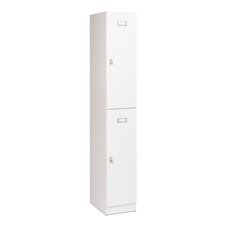 Reily 2 Tier 1 Wide School Locker