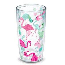 Sun and Surf Flamingos Tumbler
