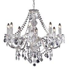 8 Light Classy Crystal Chandelier