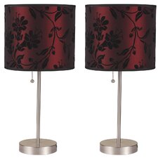 "Eagleview 18.5"" Table Lamp Set (Set of 2)"