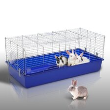 Large Rabbit Cage with Collecting Apron