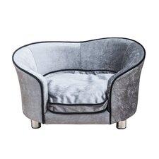 Dog Sofa in Light Grey