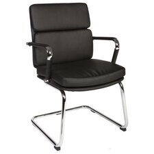 Deco Visitor Chair in Black