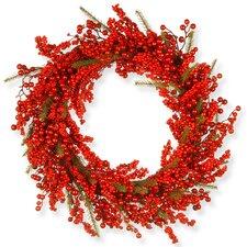 """30"""" Berry Wreath"""
