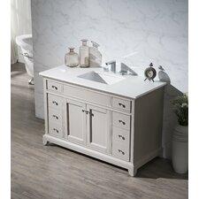 """Leola 49"""" Single Sink Bathroom Vanity Set"""