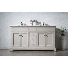 "Leola 59"" Double Bathroom Vanity Set"